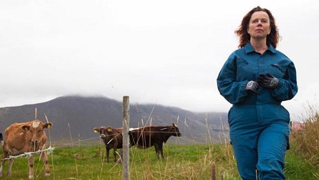 Daleko od Reykjavíku je film o boji silné a nebojácné ženy s mocným družstvem